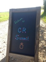 Welcome to CR Summit--courtesy of our volunteer, Joan!